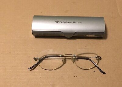Personal Optics Featherweight Titanium Eyeglasses Frames DP 15739 +2.75 043 (Personal Optics Titanium)