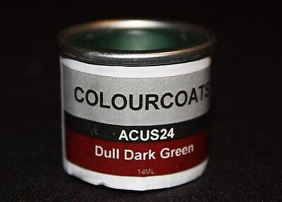 Colorcoats Dull Dark Green - (ACUS24)