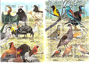 stamps-ERITREA-1998-SC-304-305-a-i-AFRICAN-BIRDS-PRINTED-IN-QUESTA-MNH-CV-22