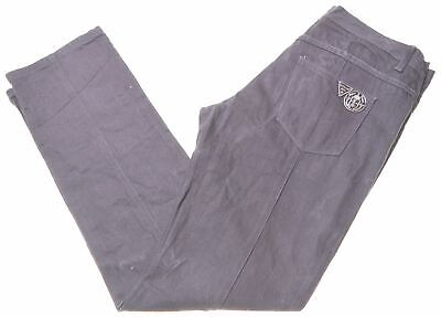 ICEBERG Mens Jeans W36 L35 Black Cotton Straight  W201