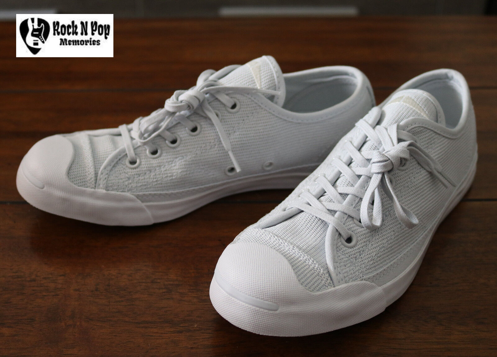 Womens Converse Jack Purcell LP OX Pure
