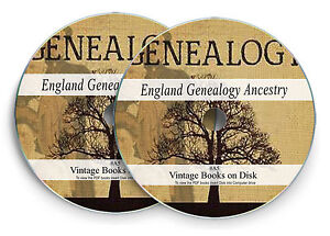 English History Genealogy Rare Books on 2X DVD - Parish Registers Family Tree A5