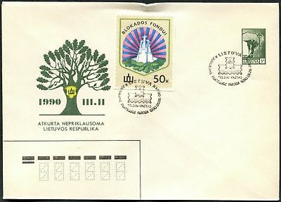 Lithuania 1990 Special Event Cover #C48904