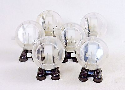 Lot of 6 Transparent Wind Up Walking Toys ~ Mechanical Fun For All Ages ~ #WG100 - Wind Up Toys Bulk