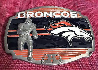 DENVER BRONCOS PLAYER BELT BUCKLE NFL BUCKLES NEW Denver Broncos Belt Buckle