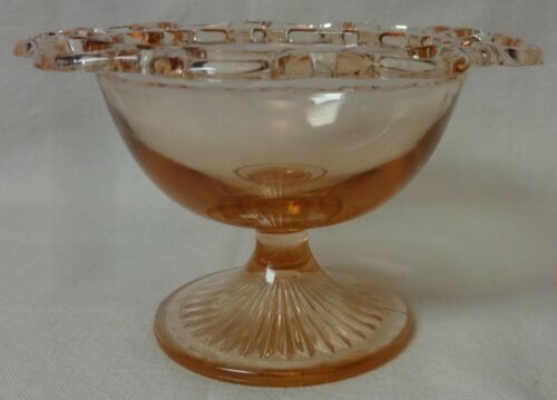 Old Colony Pink Sherbet Hocking Glass Company