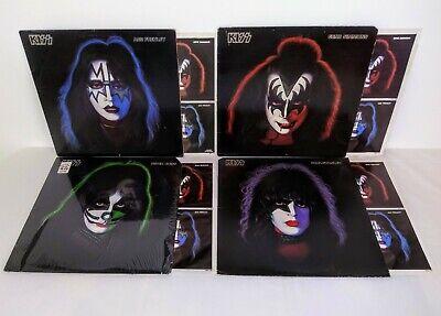 KISS ORIG 1978 SOLO 4 LP LOT ACE FREHLEY PAUL STANLEY GENE SIMMONS PETER CRISS