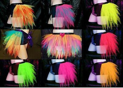 e Net Skirt Pole Rave Festival Hen Burlesque Festival Pride (Tutu Bustle)