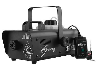 CHAUVET DJ Hurricane 1000 Pro Fog/Smoke Machine w/Wired & Wireless Remote H1000