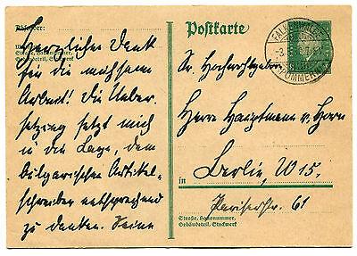 !! Postkarte von General-Feldmarschall von Mackensen an Hans Joachim von Horn !!