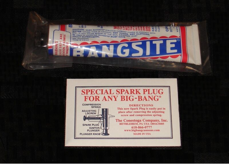 Big-Bang Cannons Bangsite Ammo & Spark Plug