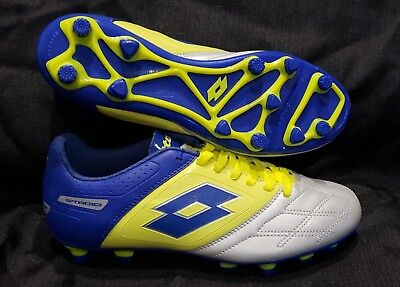 Adult Lotto Stadio Potenza IV 700 TX soccer futbol cleats shoes  NEW in (Adult Soccer Cleats)