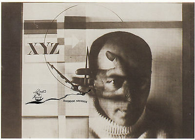 Kunstkarte: EL Lissitzky - Self Portrait: the Constructor