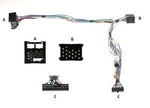 BMW Audio2Car harness 84098 Parrot  Mki9000 MKi9100 MKi9200 Motorola TK30