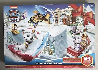 Paw Patrol Advent Calendar 24 Collectible Toys to Countdown to Christmas