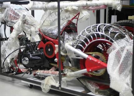 Mini Spider Chopper Motorbike - Brand New Nerang Gold Coast West Preview