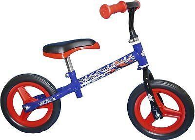 "10"" 10 Zoll Laufrad Marvel Spiderman Peter Kinder Lernrad Kinderrad Fahrrad Blau gebraucht kaufen  Versand nach Austria"