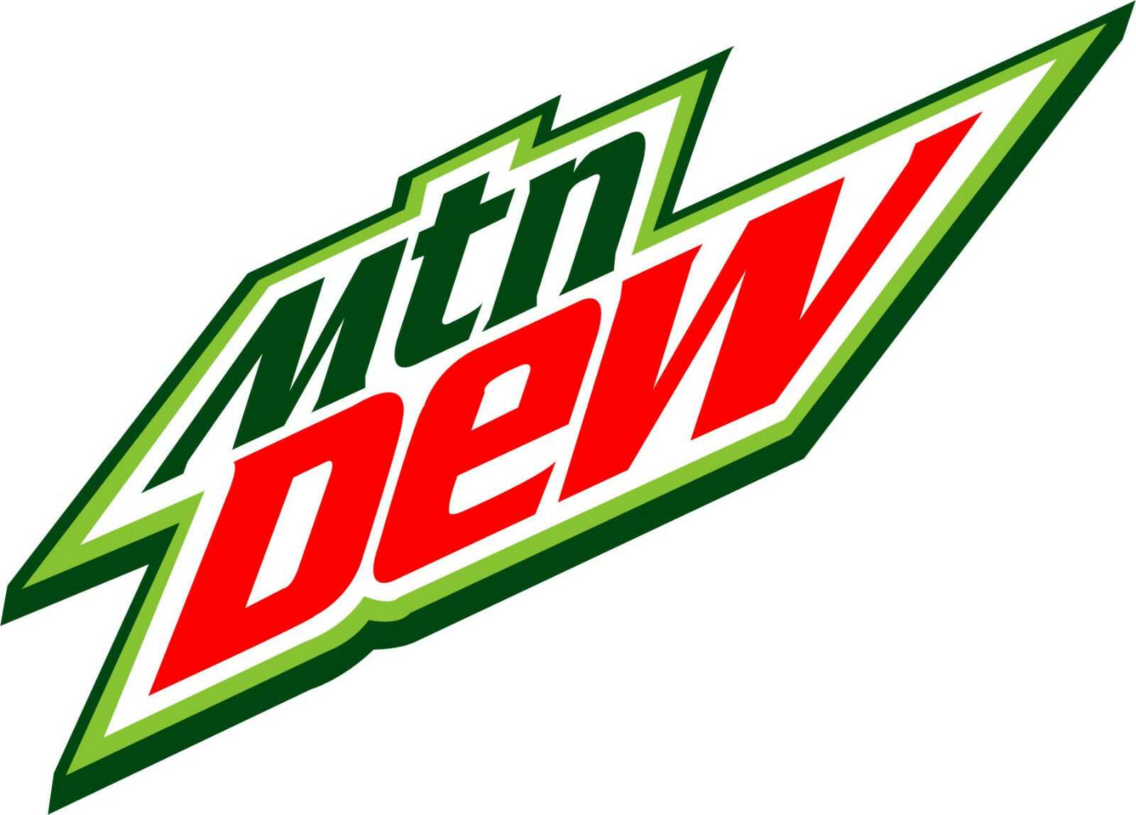 Home Decoration - MOUNTAIN DEW Vinyl Decal / Sticker ** 5 Sizes **