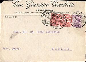 Espresso da Roma a Maglie LE 1924 - Italia - Espresso da Roma a Maglie LE 1924 - Italia