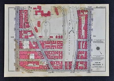 карты Северной Америки 1934 Bromley New
