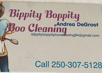 BIPPITY BOOPITY BOO CLEANING