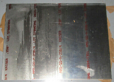 .250 14 Mill Finish Aluminum Sheet Plate 2024-t351 18 X 24