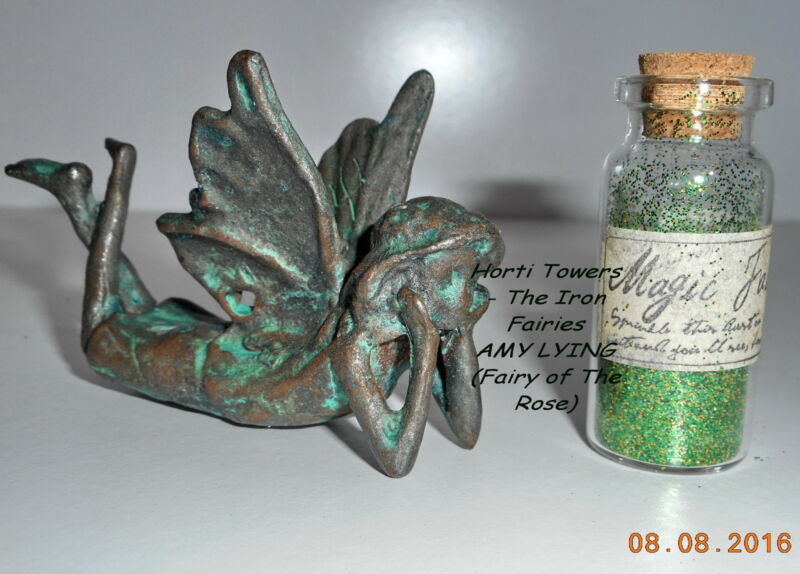 """AMY LYING """"The Iron Fairies"""" (New Bag Packaging) - (Fairy of The Rose)"""