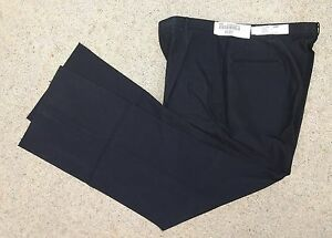 Lastest US Navy Women39s Black Slacks Pants Trousers Dress Blues Uniform  EBay