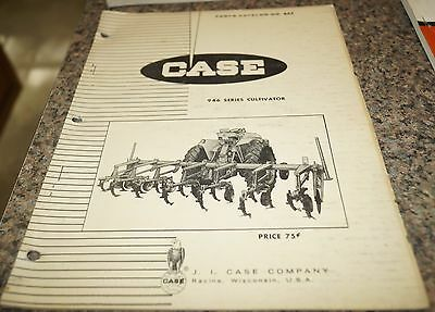 Case 946 Series Cultivator Parts Catalog Manual Book
