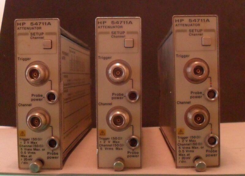 Hewlett-Packard 54710 Series Digital Oscilloscope Plugs-Ins - Agilent Keysight