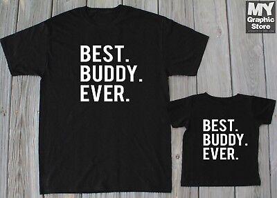 Father Son Matching Shirts Daddy Baby Shirts Best Buddy Shirt Christmas