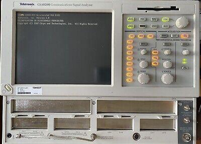 Tektronix Csa8200 Communication Signal Analyzer Sampling Oscilloscope Upgraded