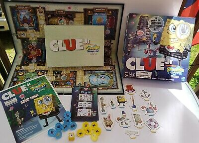RARE - Spongebob Clue Jr The Case of the Missing Jellyfish Net by Hasbro - 2011 for sale  Shipping to India