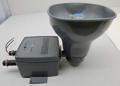 Adaptatone Edwards Signal Horn 5530M 24Y6 120-240V Audible Alarm 5530m-24Y6 GS