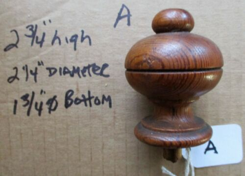 ANTIQUE VICTORIAN URN STYLE FURNITURE FINIALS YOUR CHOICE buy 1 or all