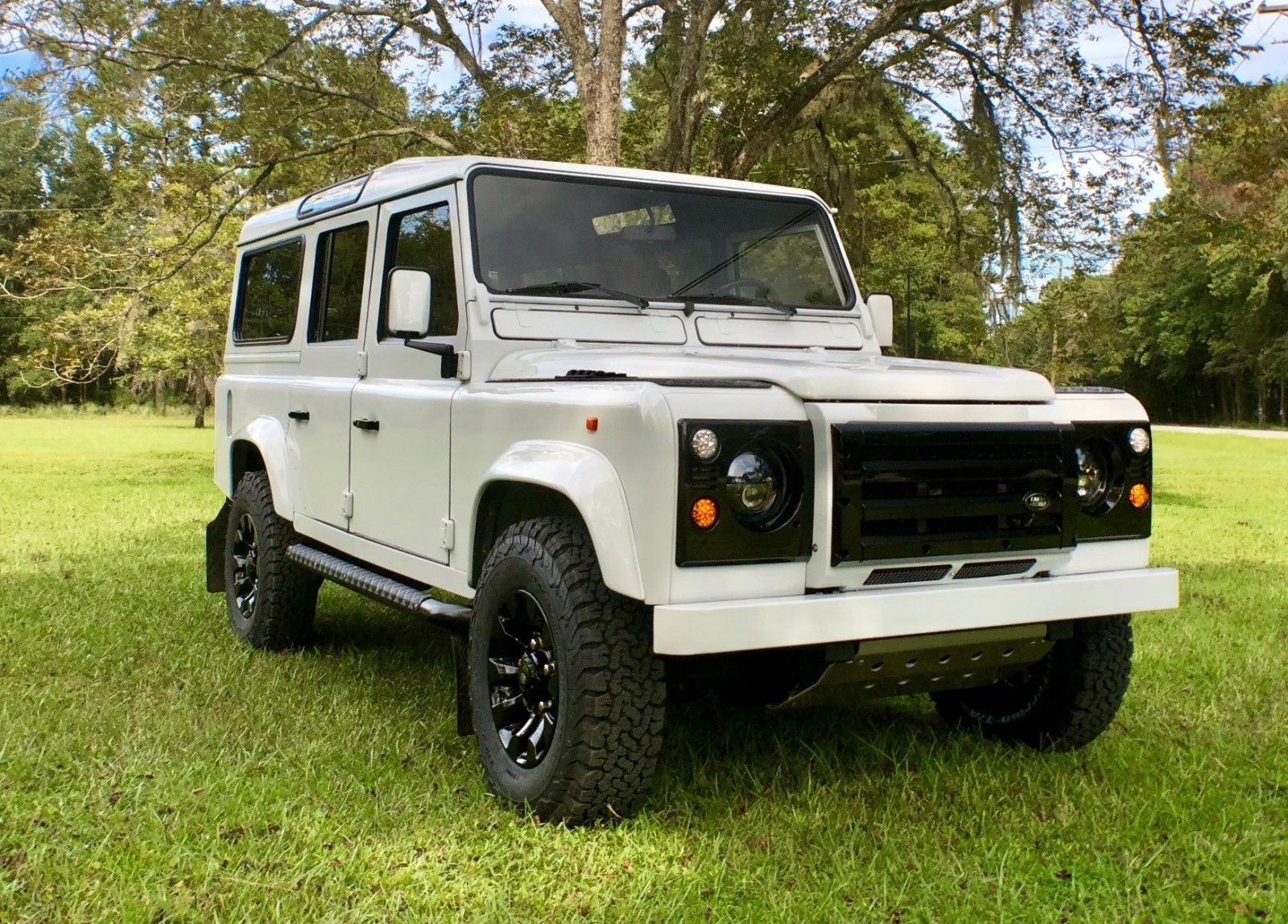 1992 Land Rover Defender  Fully Restored Land Rover Defender 110 by HIMALAYA