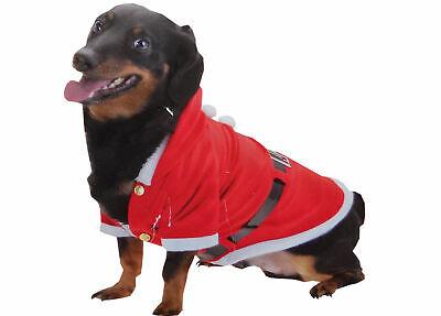 Hundeanzug Hundemütze Weihnachtsmütze Weihnachtsanzug Hund Katze Dackel (Mops Katze Kostüm)