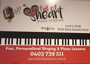 Singing & Piano Lessons - Essendon North Essendon North Moonee Valley Preview