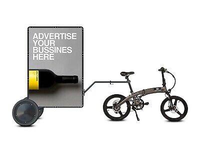 Mobile Billboard Signs Bicycle Trailer