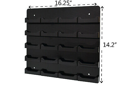 Business Gift Card 20 Pocket Display Wall Mount