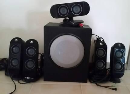 Logitech X 530 5.1 Surround Desktop Computer Speakers