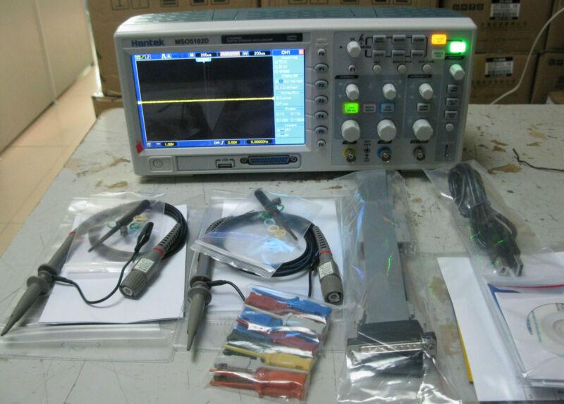 100MHz 2Channels 1GSa/s Oscilloscope 16Channels Logic Analyzer 2in1 MSO5102D USB