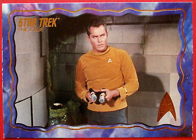"""STAR TREK TOS 50th Anniversary - """"THE CAGE"""" - GOLD FOIL Chase Card #47"""