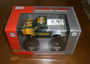 2003-PACKERS-FORD-F-350-MONSTER-TRUCK-1-32-SCALE-LTD