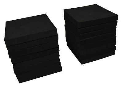 "XCEL Craft Foam Pads Furniture Pads Acoustic Studio Squares 3""x3""x3/8"" (16 pcs)"