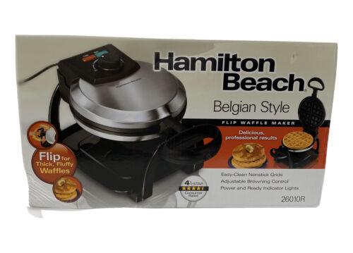 Hamilton Beach 26010 Waffle Maker - Belgian Waffle - 1 x