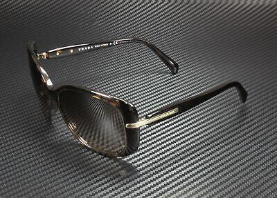 PRADA PR 08OS 2AU6S1 Conceptual Havana Brown Gradient 57 mm Women's Sunglasses