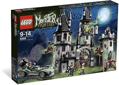 s BNIB 9468 Vampire Castle halloween 7 mini figures (Lego Halloween Castle)