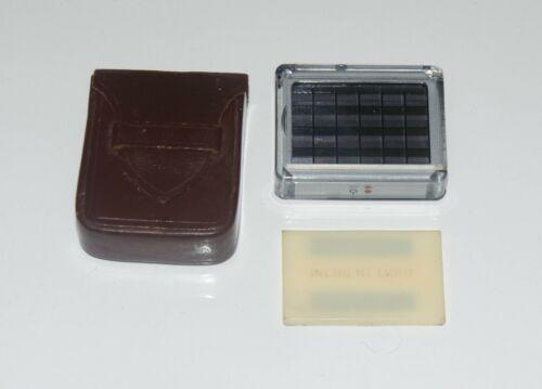 Vintage Leica Meter MC Incident Light Attachment