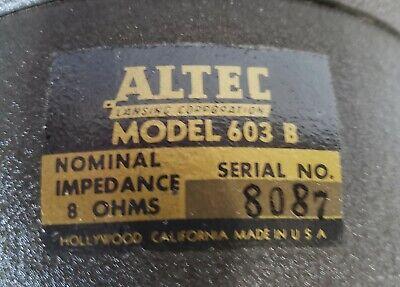 "15"" Altec Lansing 603B Multi Cell Dia-Cone Speaker"